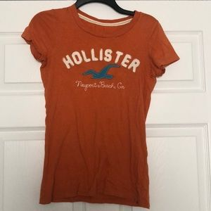 Orange Hollister Shirt